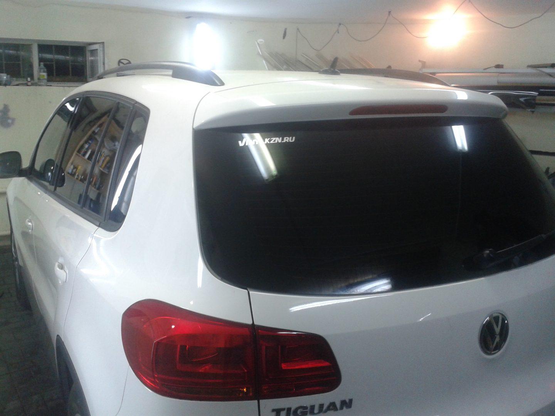 Тонировка автомобиля Volkswagen Tiguan — июль 2013