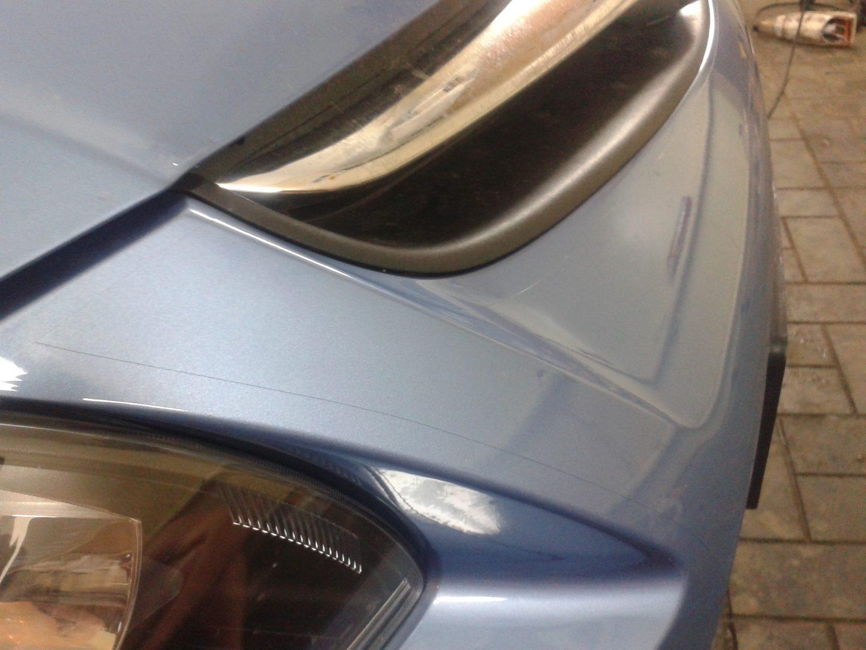 Hyundai i30 — бронирование капота и бампера авто — июль 2013