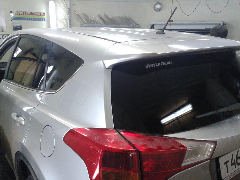 Toyota RAV 4  — тонирование задних стекол авто — 23 сентября 2013