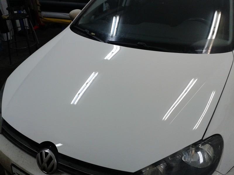 VW Golf — полировка, бронирование кузова автомобиля пленкой 13.10.2013