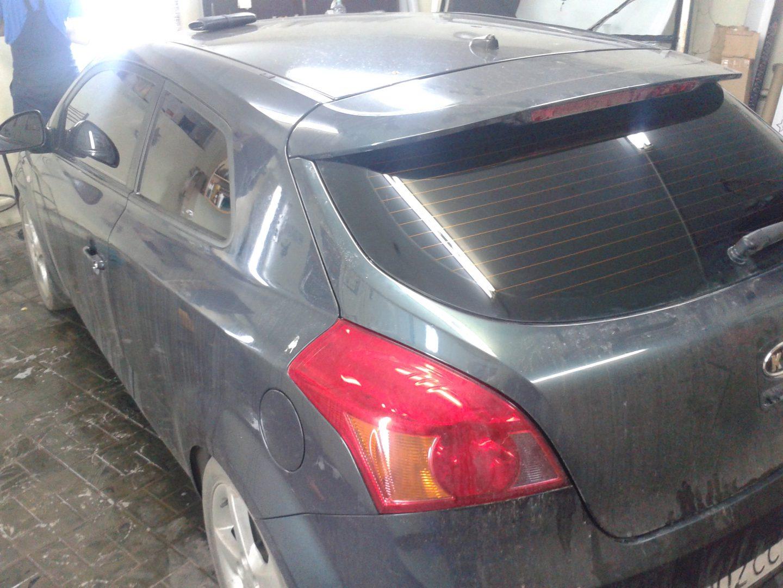 Kia Ceed — тонировка автомобиля — октябрь 2013