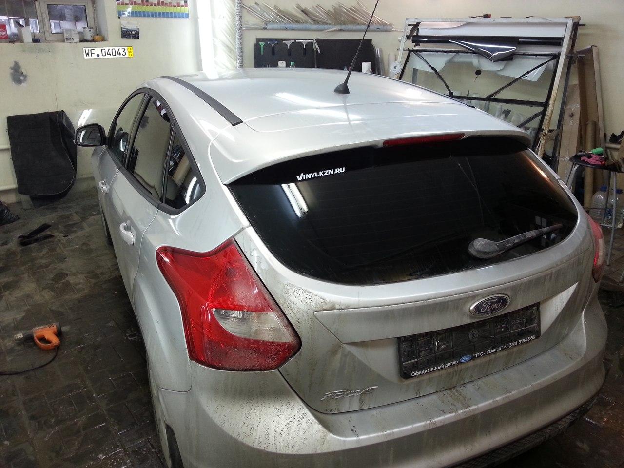 Ford Focus — тонировка стекол автомобиля — 01.01.2014
