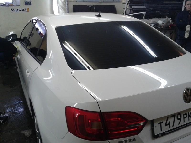VW Jetta — тонировка авто, бронь кузова для шашки такси — 05.02.2014