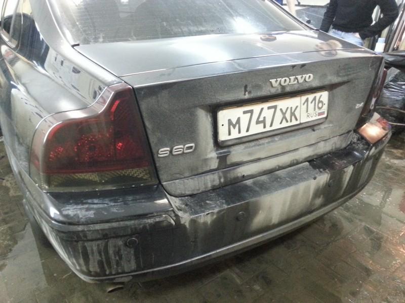 Тонировка задних фонарей  автомобиля Volvo S60 — 12.02.2014