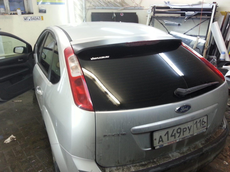 Тонировка стекол авто Ford Focus — 02.03.2014