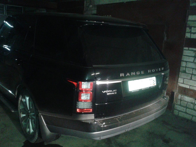 Тонировка автомобиля Range Rover Vogue 2013 — 04.03.2014