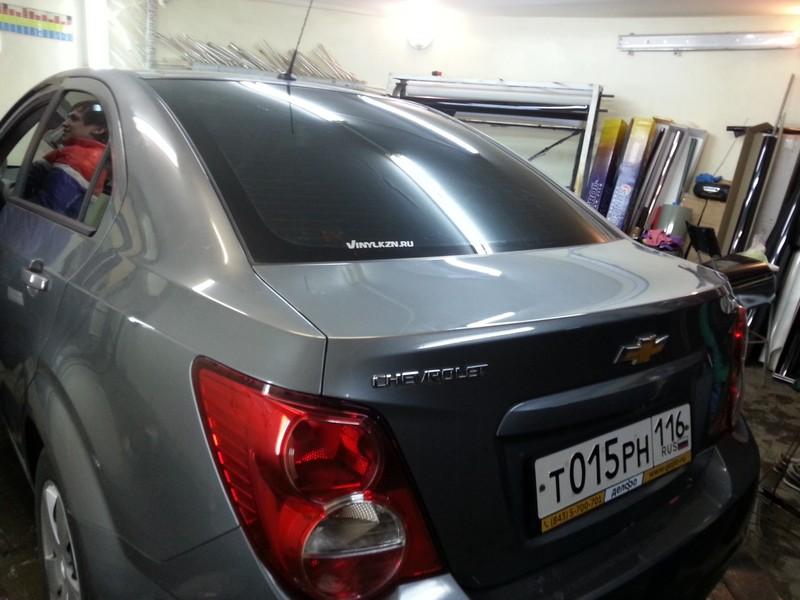 Chevrolet Aveo — тонировка стекол автомобиля — 10.04.2014