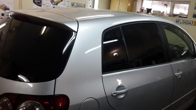 VW Golf Plus — тонировка стекол автомобиля — 25.04.2014
