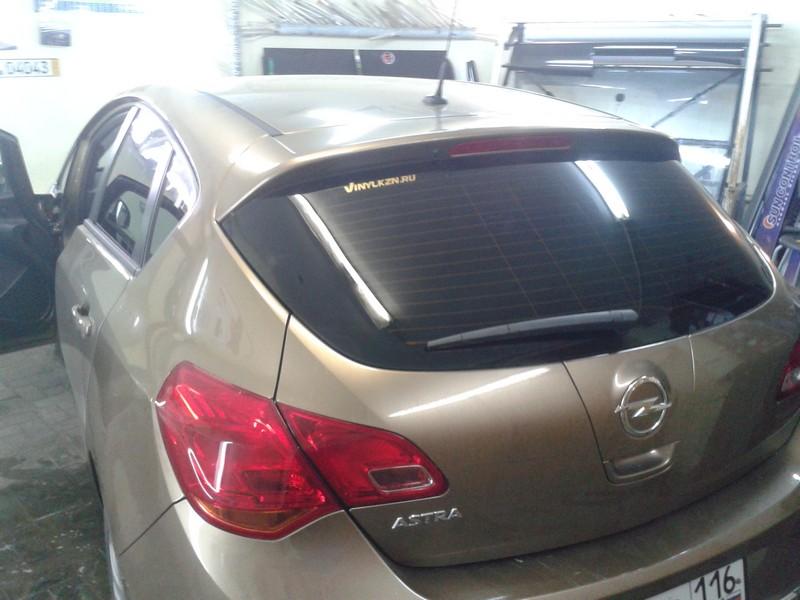 Тонировка автомобиля Opel Astra —  13.04.2014