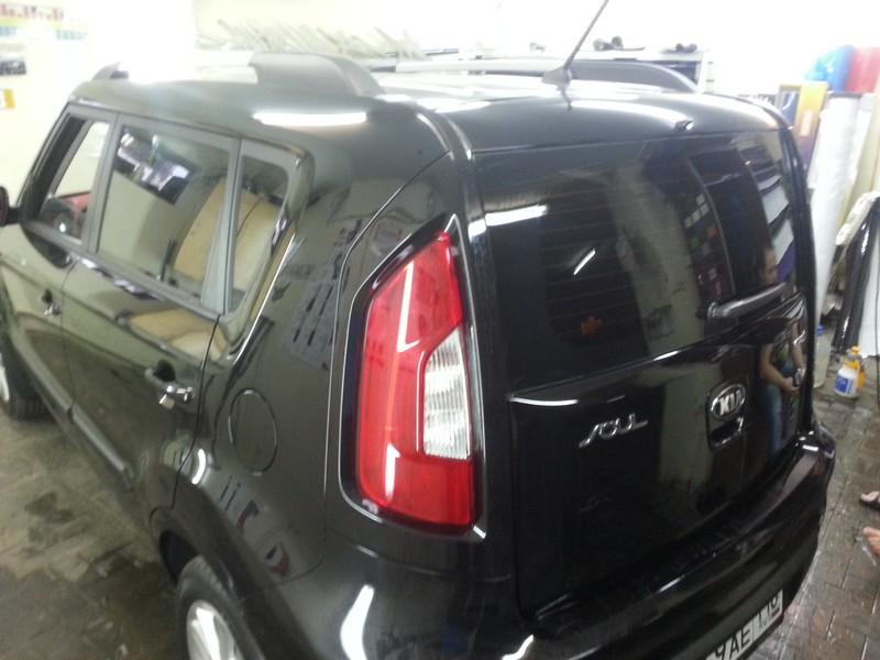 KIA SOUL — тонировка авто в Казани — 17.06.2014