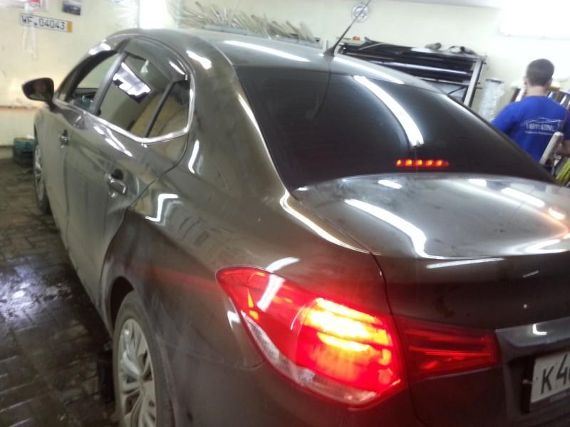 Citroen C4 — тонировка авто в Казани — июнь 2014