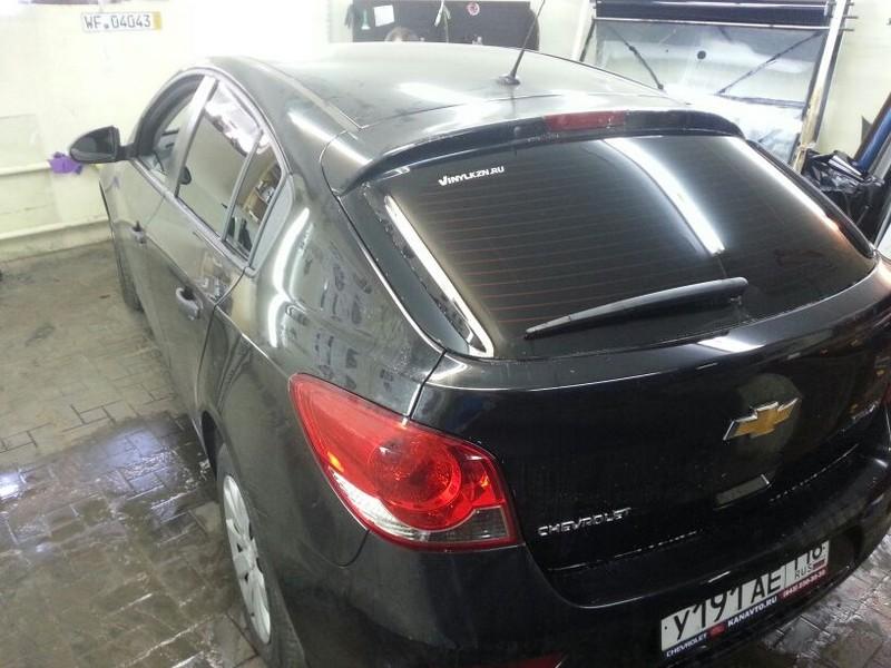 Chevrolet Cruze — тонировка автомобиля — цена 1800р — май 2014