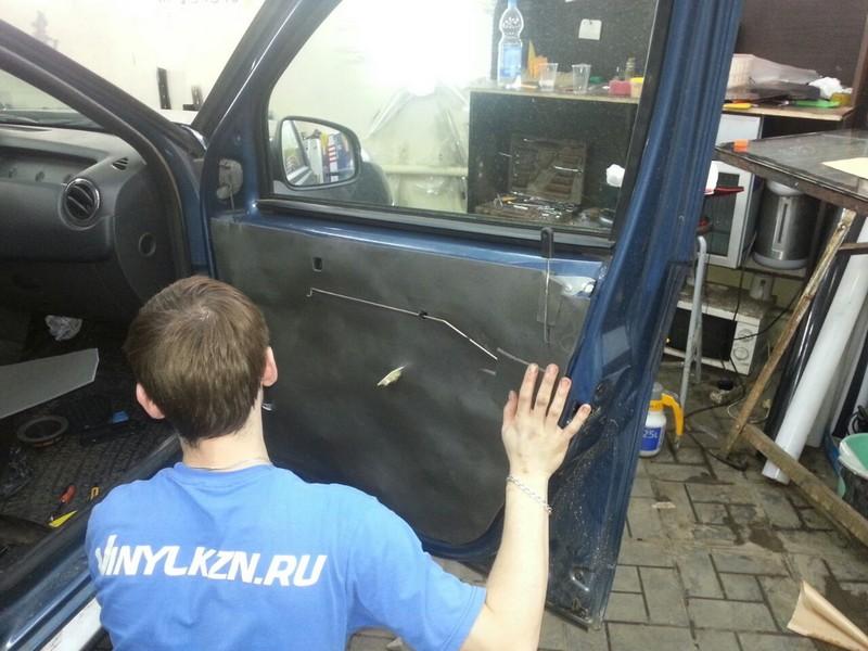 Шумоизоляция автомобиля Renault Duster, июль 2014