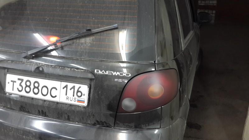 Daewoo Matiz — тонировка фар — 25.08.2014