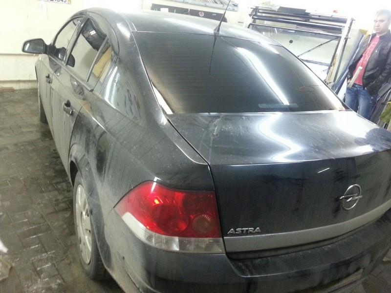 Opel Astra H — тонировка авто, цена 1800 руб., 28.08.2014