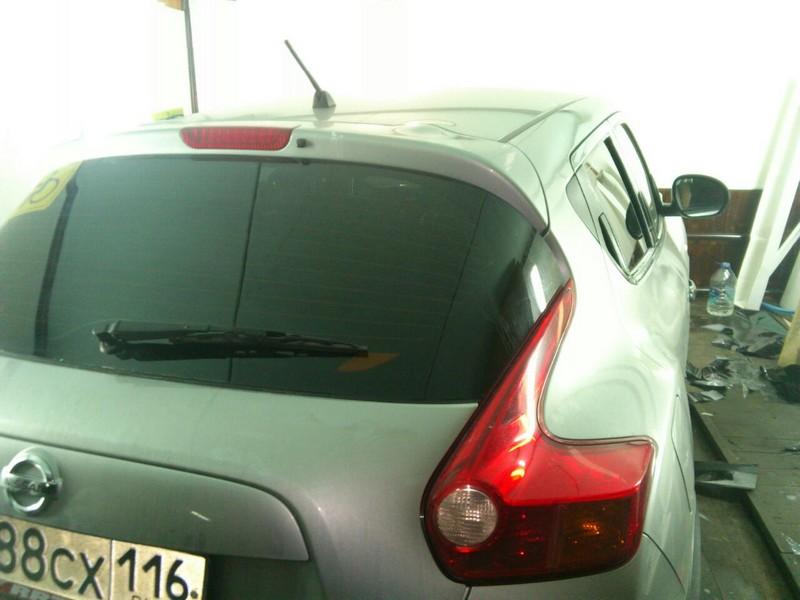 Nissan Juke — тонировка авто, цена 1600 руб., 01.09.2014