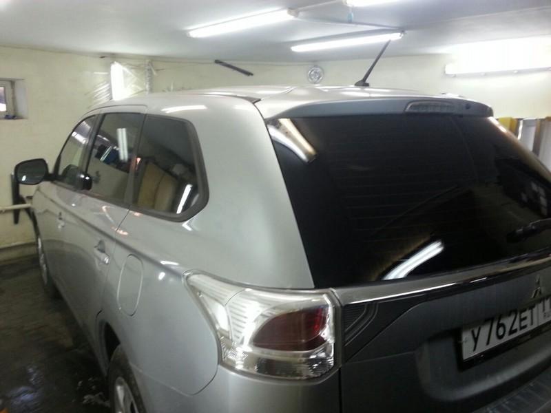 Mitsubishi Outlander — тонировка стекол автомобиля — 24.09.2014