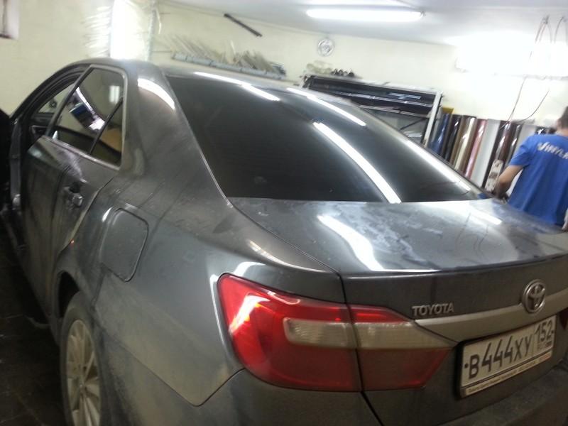 Toyota Camry — тонировка автомобиля, цена 2200 рублей — 04.10.2014