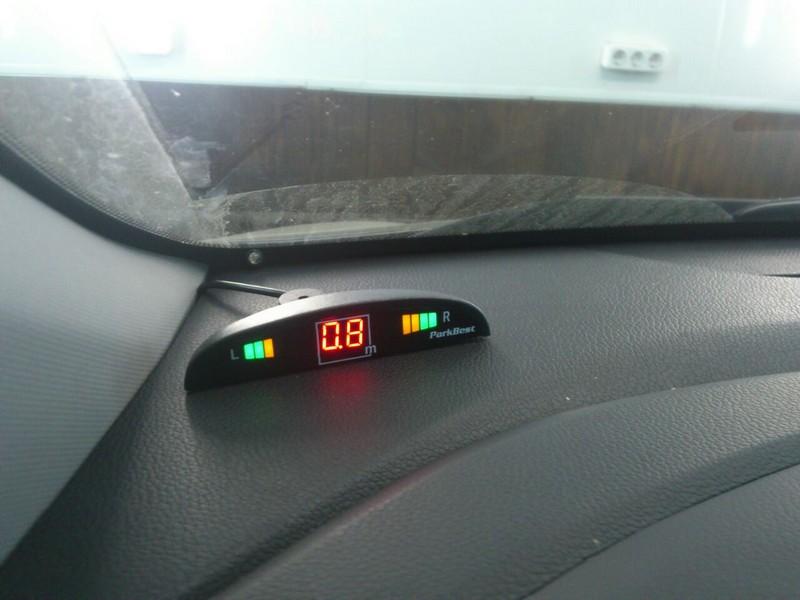 Киа рио установка парктроника