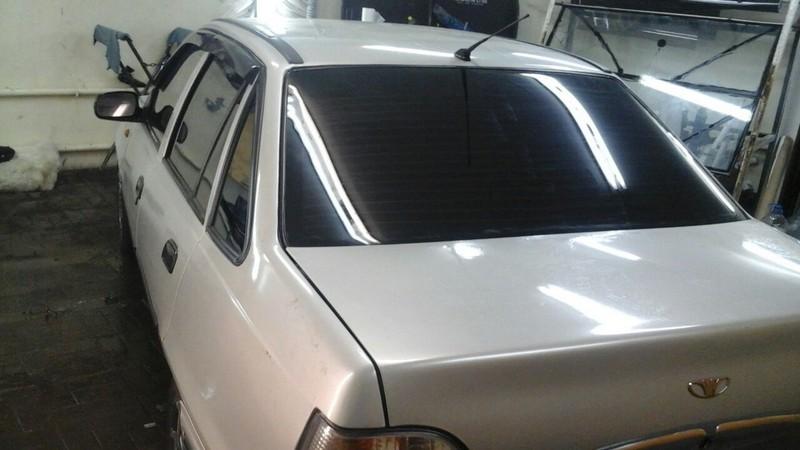 Daewoo Nexia — тонировка автомобиля — 24.10.2014