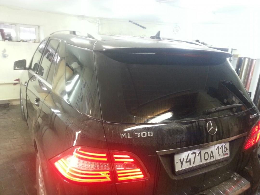 Mercedes ML 300 2014 — тонирование стекол авто — ноябрь 2014