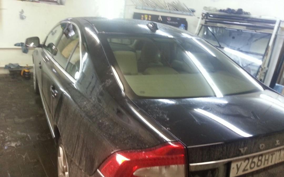 Volvo S60 — легкая тонировка стекол автомобиля — ноябрь 2014