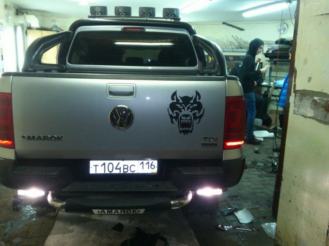 VW Amarok — стайлинг автомобиля — декабрь 2014