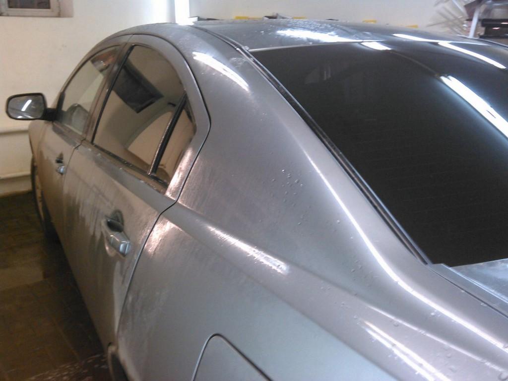 Mitsubishi Galant — тонировка стекол авто, апрель 2015