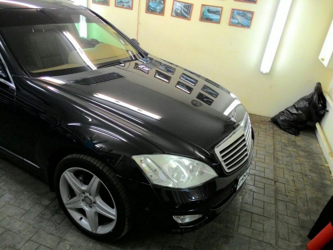 Mercedes-Benz S500 — полная глубокая полировка, цена 8000 руб.