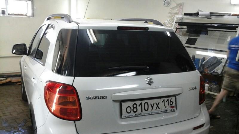 Suzuki SX4 — тонировка стекол, цена 2000 руб.