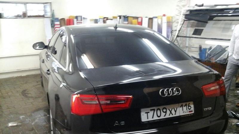 Audi A6 — тонировка задней части авто