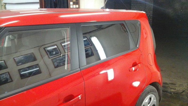 KIA Soul — тонировка задней части авто, тонировка фонарей