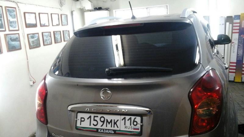 SsangYong Actyon — тонировка стекол авто, цена 2000 руб.