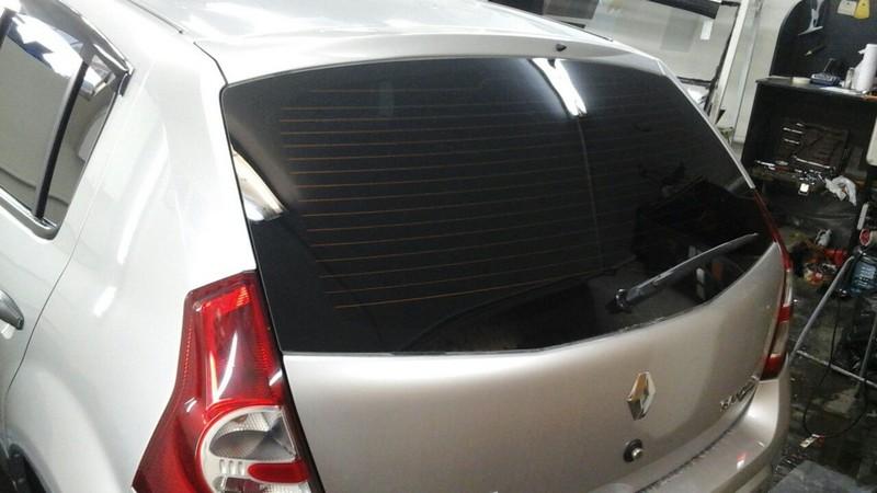 Renault Sandero — тонировка авто, цена 2000 руб.