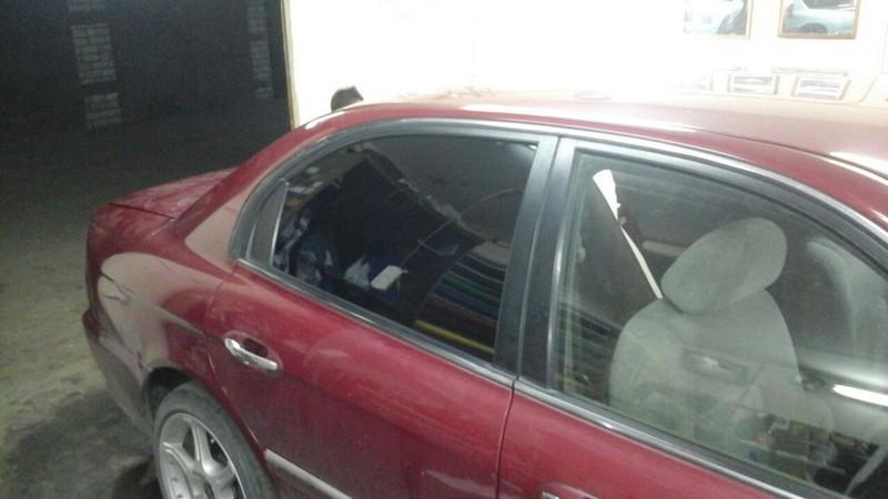 Kia Magentis — тонировка задней части авто, тонировка задних фонарей
