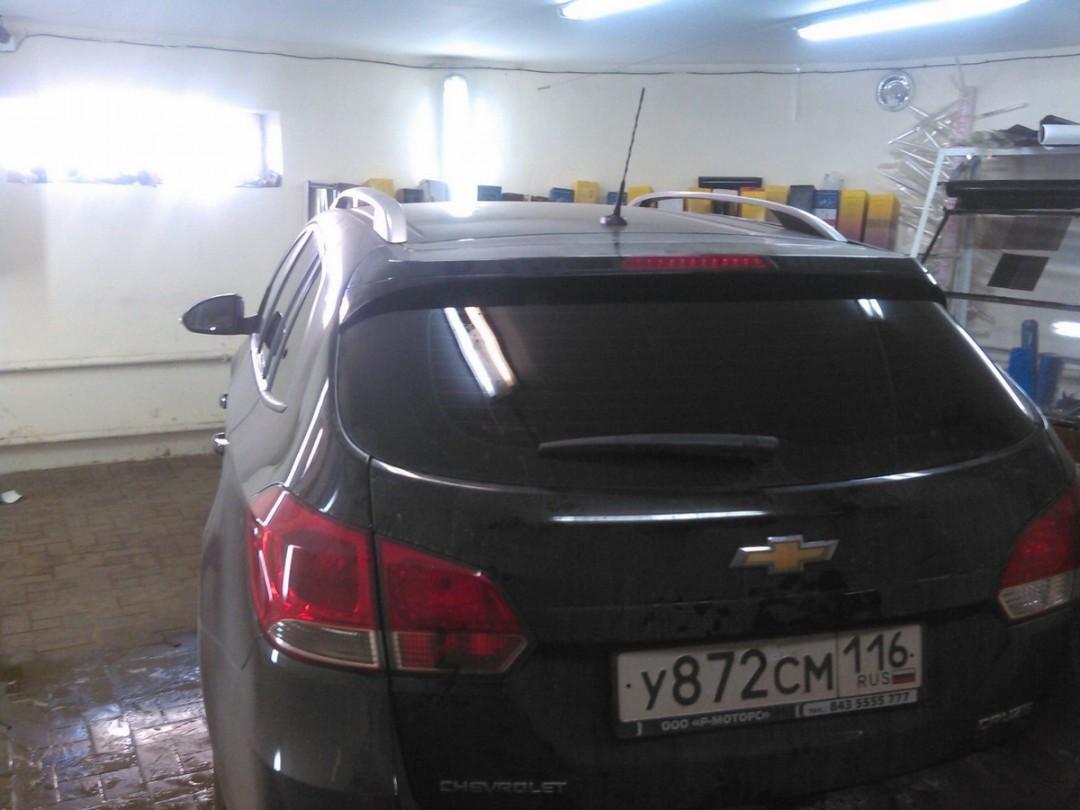 Chevrolet Cruze универсал — тонировка стекол, цена 2200 руб. — август 2015