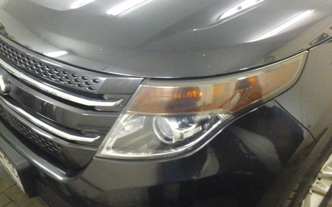 Ford Explorer — тонировка передних и задних фар —  сентябрь 2015
