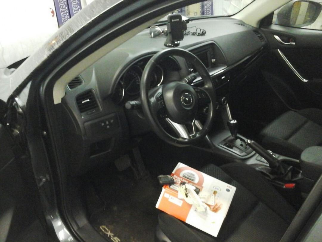Mazda СХ-7 — сертифицированная установка сигнализации StarLine A93