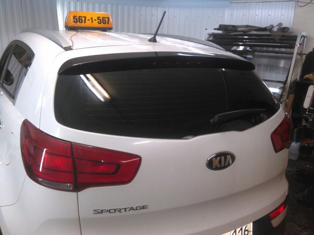 Kia Sportage — тонировка стекол автомобиля