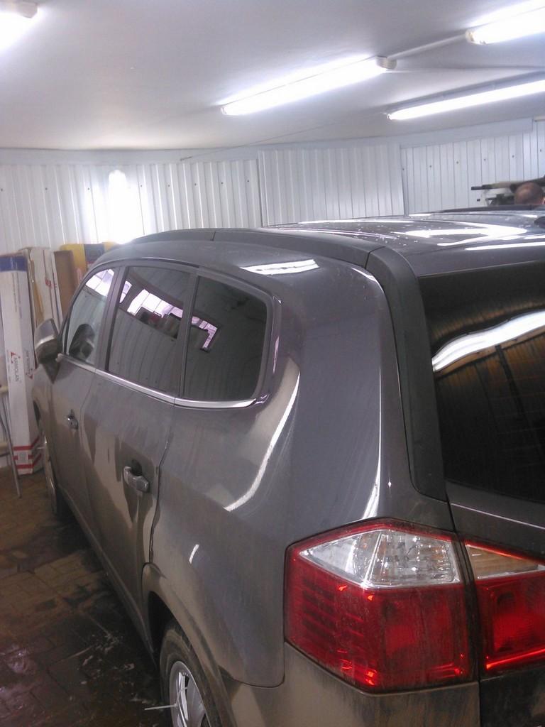 Chevrolet Orlando — тонировка задней части авто