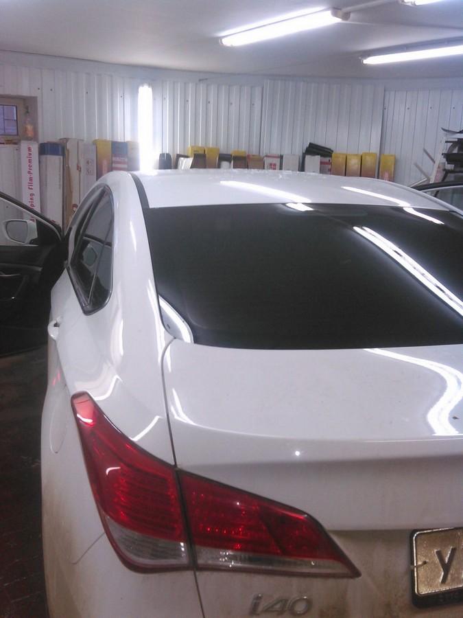 Hyundai i40 — тонировка стекол автомобиля
