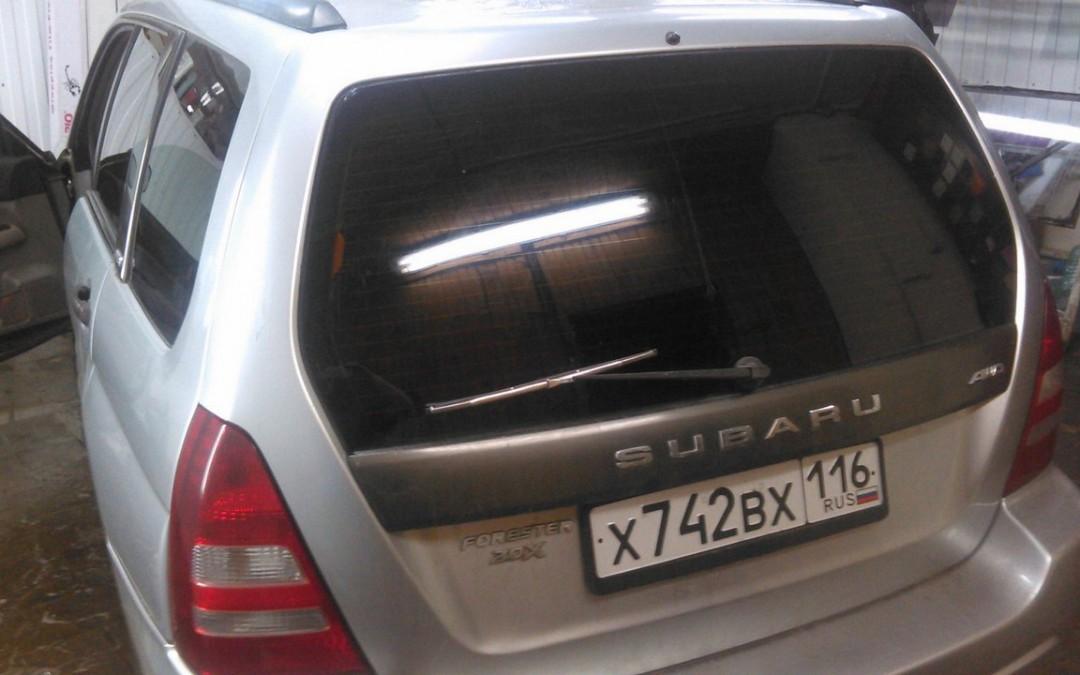 Subaru Forester — тонировка задней части авто