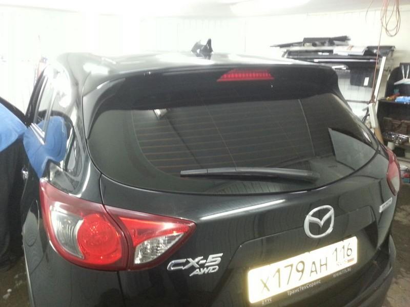 Mazda СХ 5  — тонировка задней части авто 95%, перед 50%