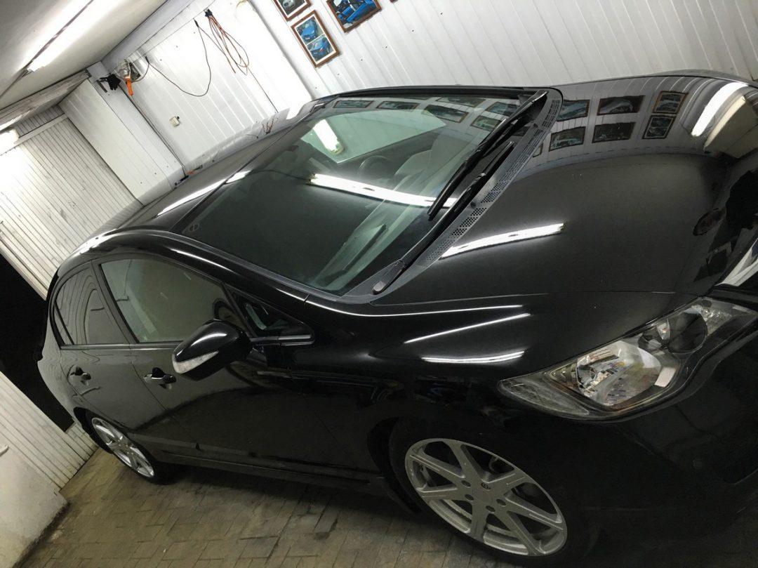 Полная глубокая полировка автомобиля — Honda Civic