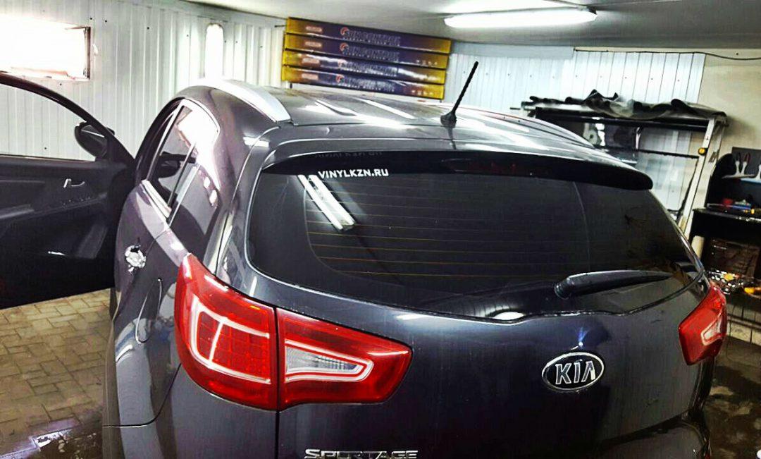 Тонировка задней части авто пленкой Sun Control — Kia Sportage