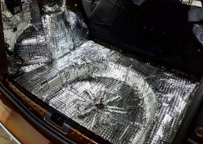 Вибро-шумоизоляция багажника, крышки багажника — Renault Duster