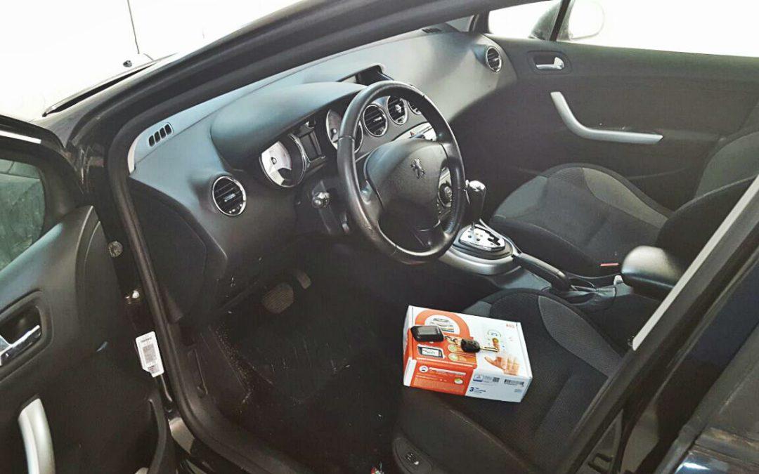 Сертифицированная установка сигнализации Starline A93 — Peugeot 207
