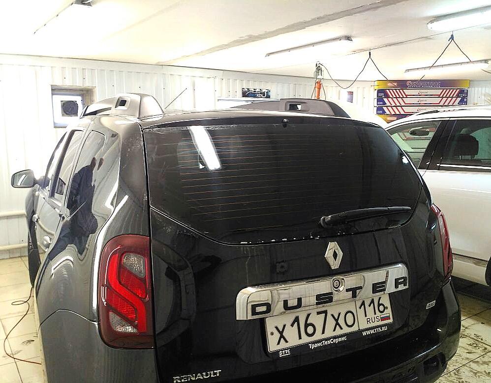 Тонировка задней части авто Renault Duster