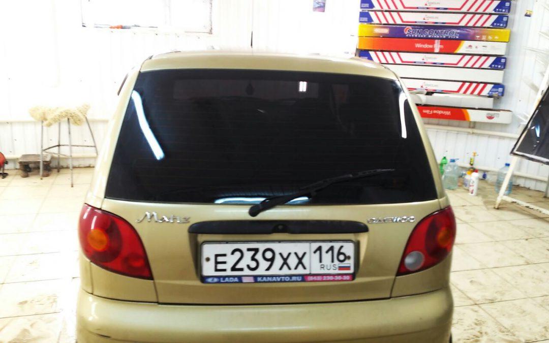 Тонировка стекол автомобиля Daewoo Matiz, цена 1700 руб.