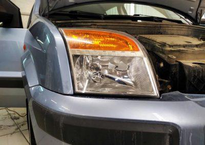Полировка, бронирование фар автомобиля — Ford Fusion